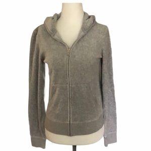 Juicy Couture Zip-up Hoodie Jacket
